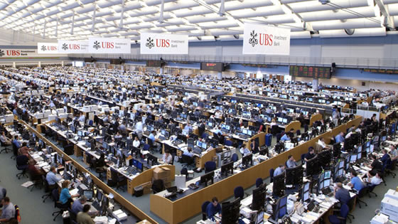 Largest Trading Floor in World
